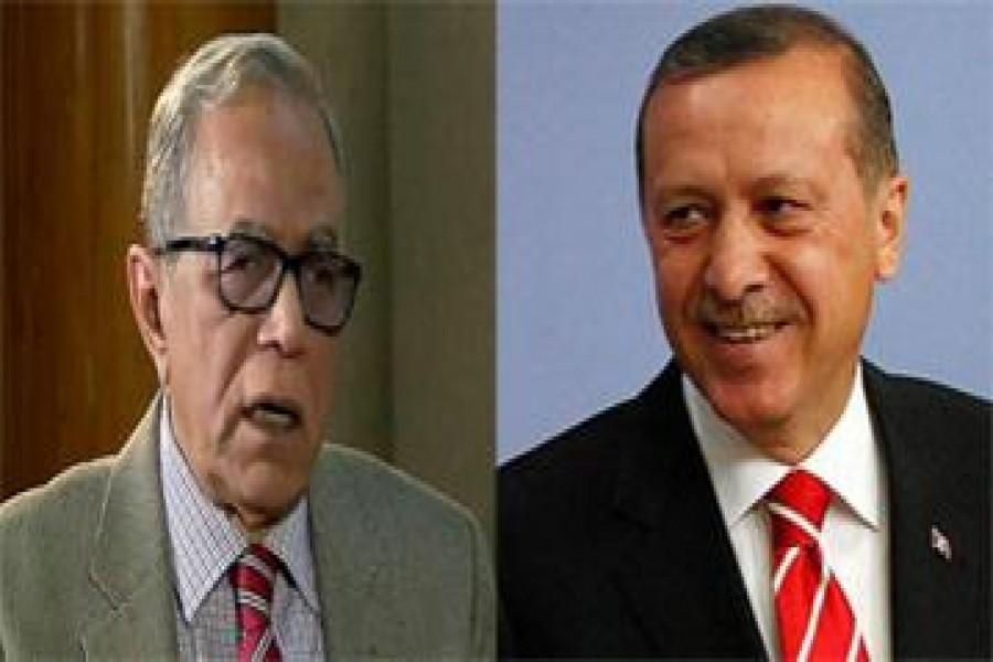 Erdogan phones Hamid, talks Rohingya issue