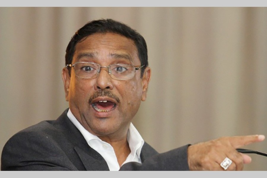 Quader threatens befitting reply to arson attempt