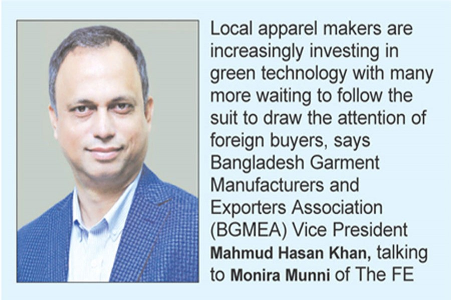 Going green to woo foreign buyers