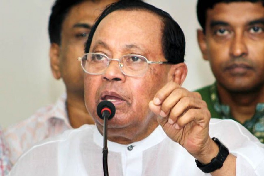 Dissolving parliament a must before polls: Moudud