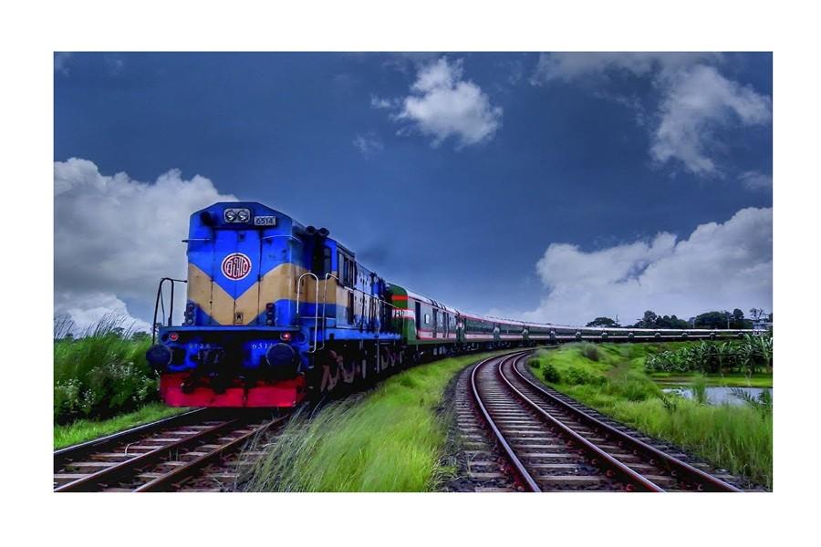 Plight of train passengers