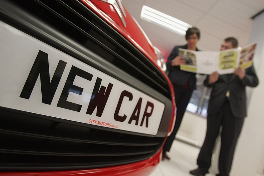 UK new car sales hit record low