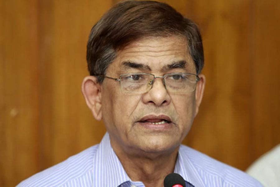 Fakhrul sees patriotism behind Khaleda's comments about Padma Bridge