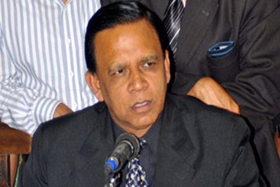 BNP Joint Secretary General Mahbub Uddin Khokon. - Internet file photo.