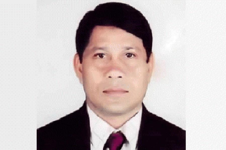 Motiur Rahman Montu, the General Secretary of Rajshahi BNP unit — via UNB