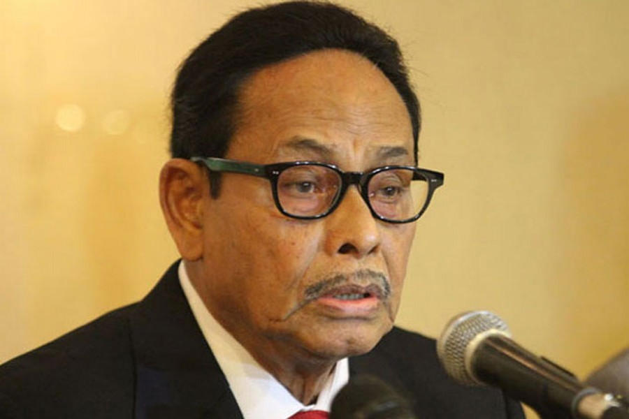 Ershad sceptical about outcome of PM-Oikyafront dialogue