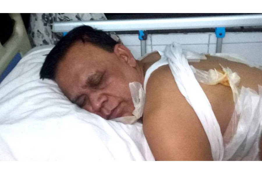 BNP candidate Khokon, three others suffer 'bullet wounds' in Noakhali