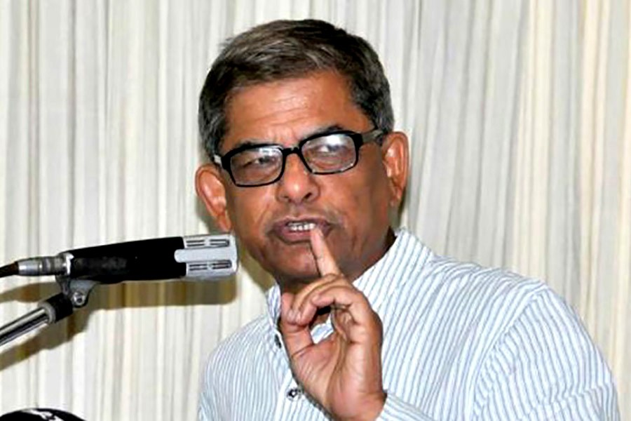 PM tried to justify AL's victory, Fakhrul says