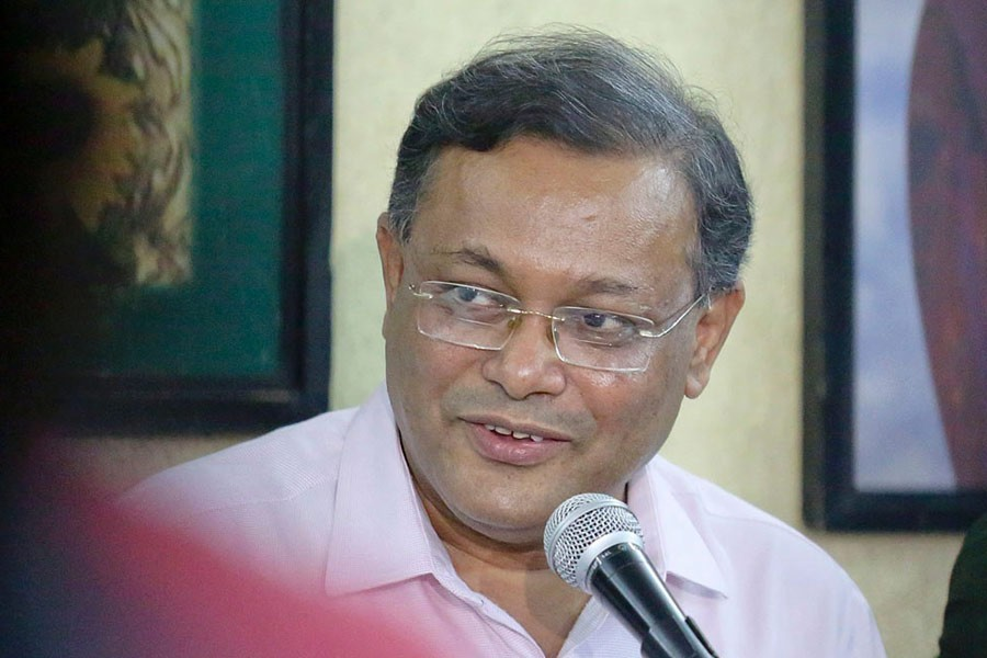 """""""Don't do dirty politics with disaster"""", Minister to BNP"""