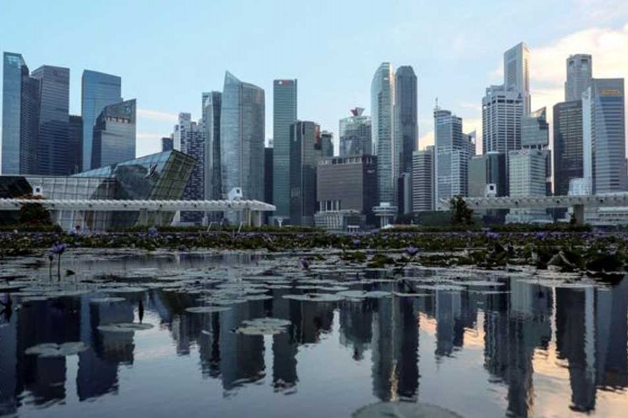 Singapore's decade-low growth triggers recession warning