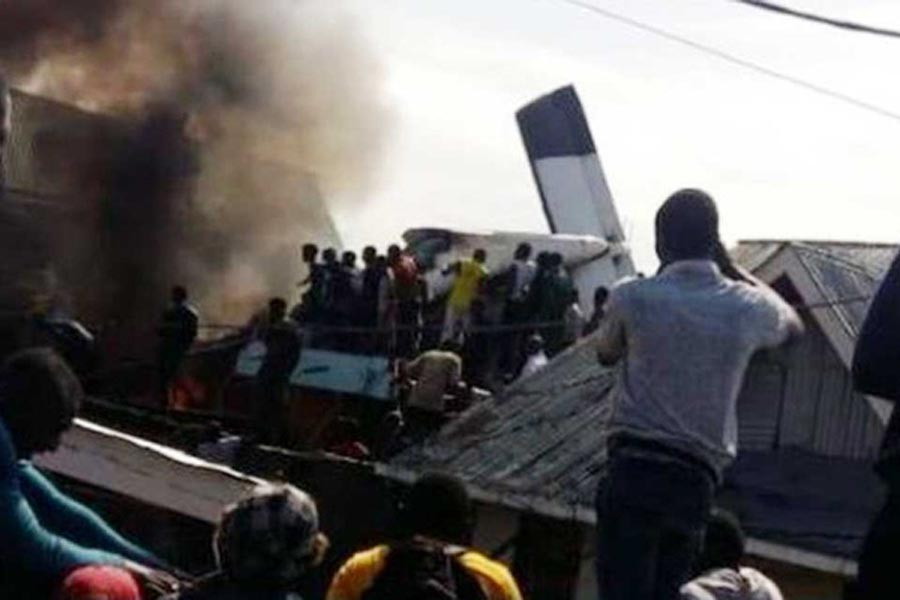 At least 18 people killed in Congo plane crash