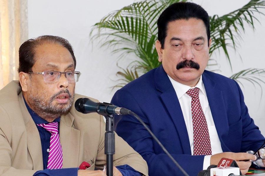 GM Quader accuses BNP of repressing Jatiya Party