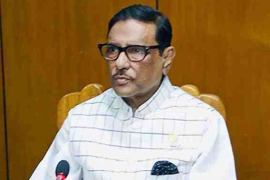 Obaidul Quader urges BNP to refrain from negative politics