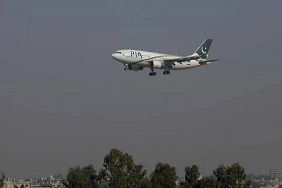 A Pakistan International Airlines (PIA) passenger plane arrives at the Benazir International airport in Islamabad, Pakistan, December 02, 2015 — Reuters/Files