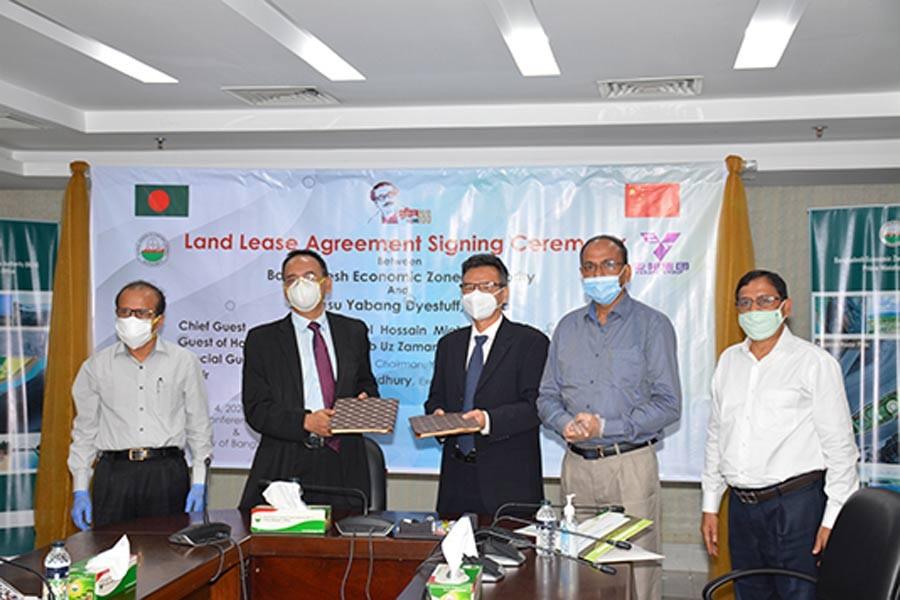 BEZA, Yabang Group ink land lease agreement