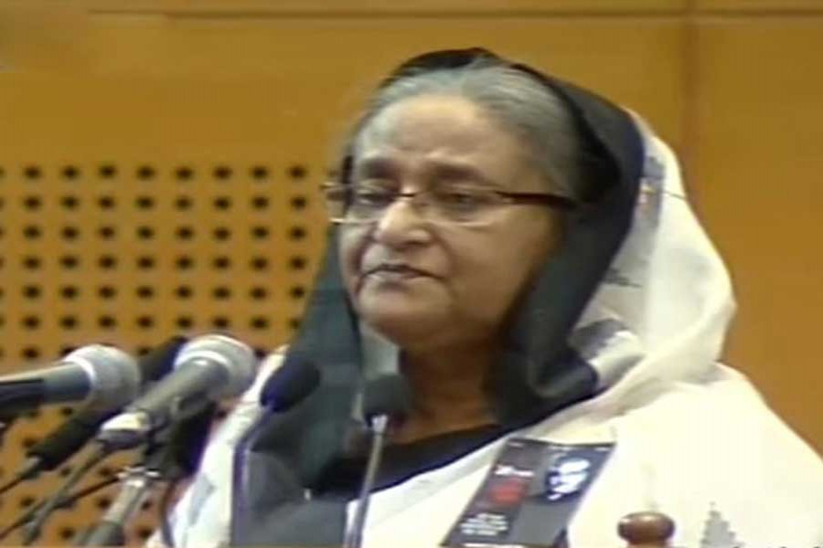 """BNP planted """"poisonous tree of graft"""" in Bangladesh: PM"""