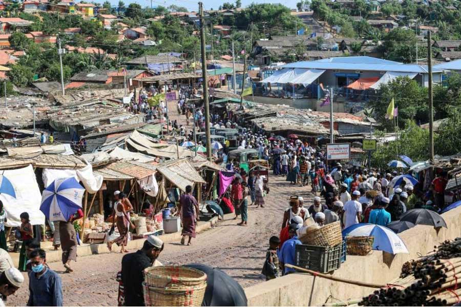 Sheikh Hasina's approach  to Rohingya crisis