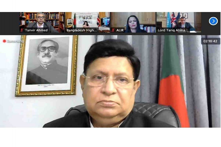 Solution to Rohingya crisis unlikely if impunity, geopolitical appeasement continues: Momen