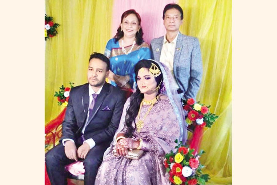Wedding of Himu and Mitul: A homely marriage at Dinajpur in the presence of family members only