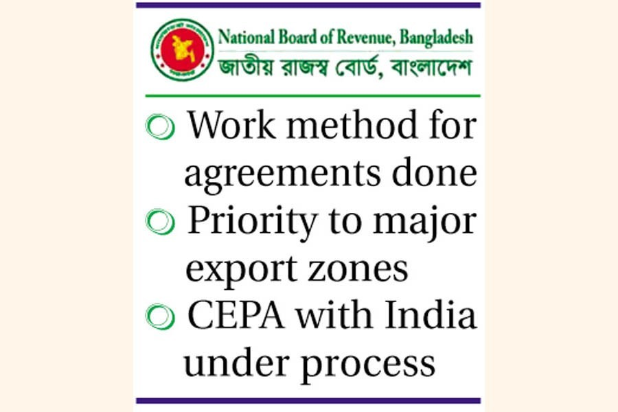 NBR advises against deal in case Bangladesh has trade deficit