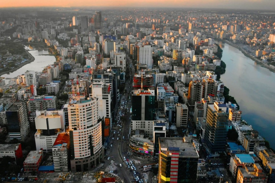 File photo of Dhaka city. (Collected)