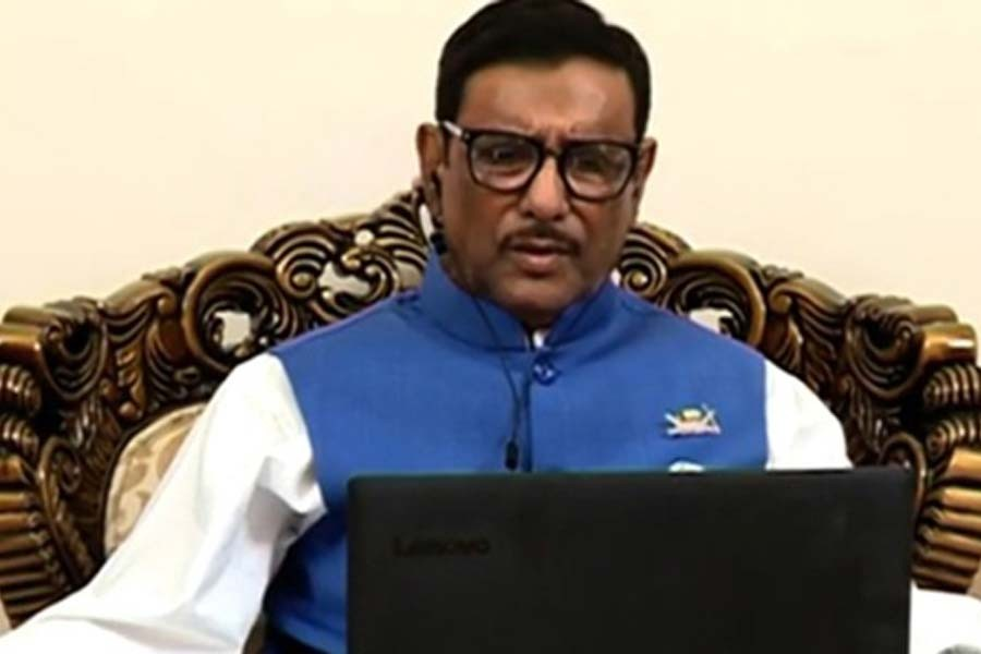 Bangladesh would march towards prosperity in 2021, Quader says