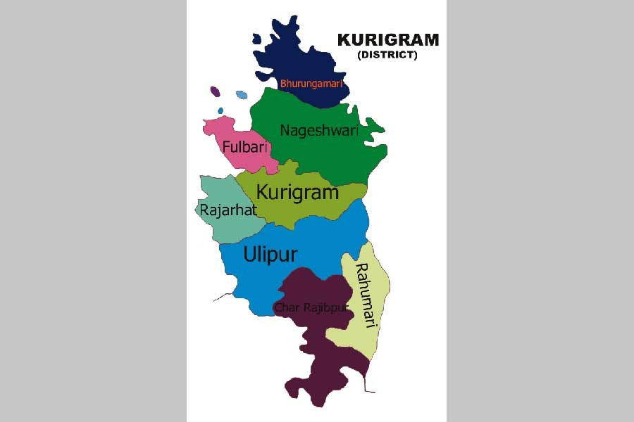 Kurigram shivers in cold wave