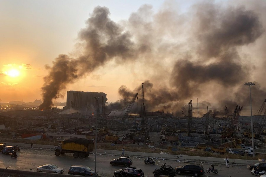 Beirut blast chemicals possibly linked to Syrian businessmen
