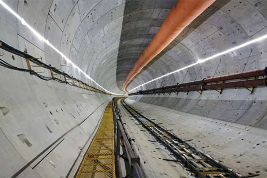 Karnaphuli tunnel to be ready for vehicular movement by next year