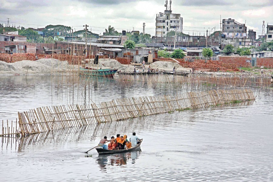 Saving rivers from encroachers, polluters