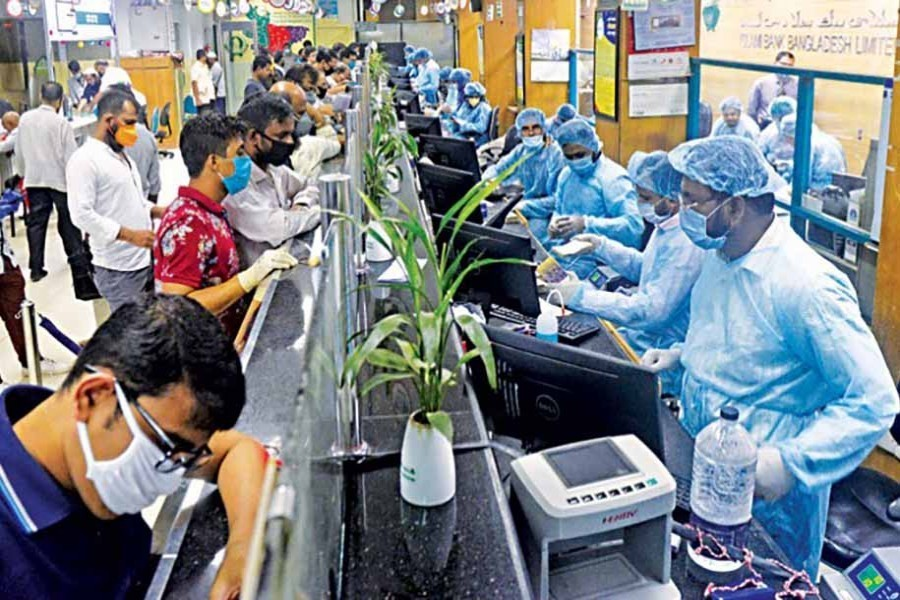 Bangladesh reports 584 new virus cases, 16 deaths