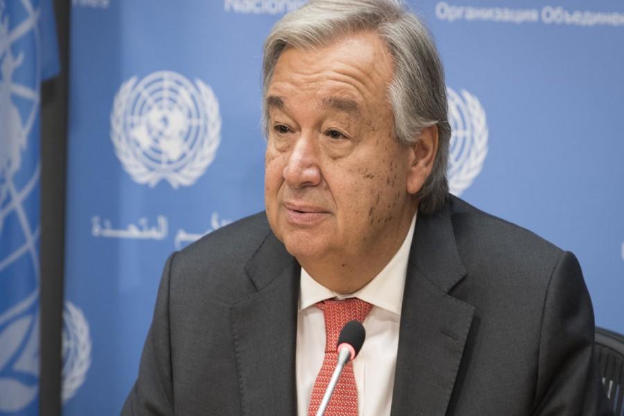 UN chief urges global alliance to counter rise of neo-Nazis