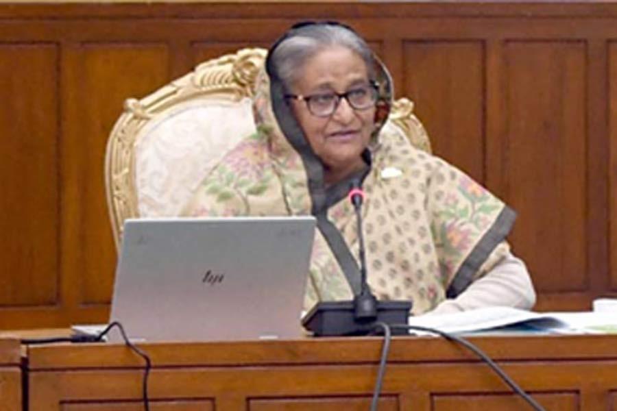 BNP now in leadership crisis, Hasina says