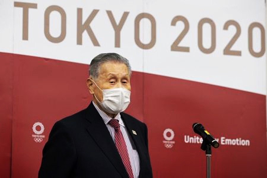 Tokyo 2020 chief Mori makes sexist remarks at Games meeting