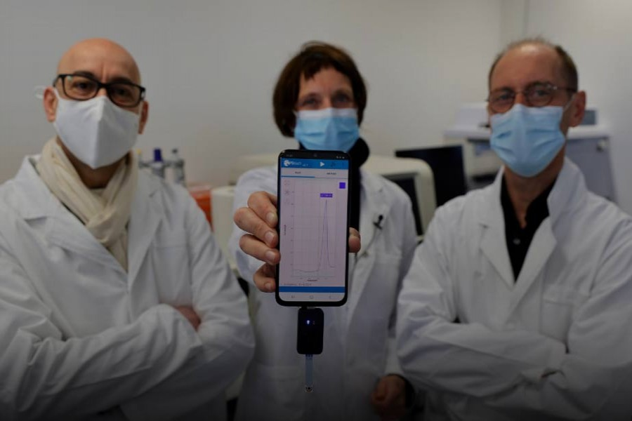 French researchers trial more accurate fast COVID-19 test