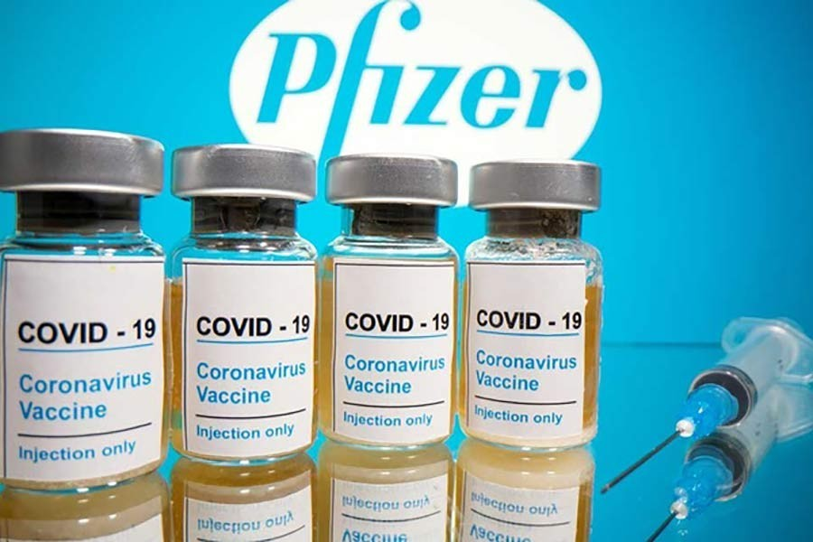 Pfizer COVID-19 vaccine shows 95 pct efficacy, eligible for youths