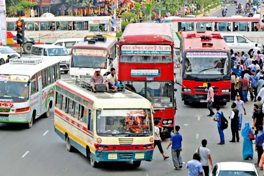 Joint venture bus company set to get going in Dhaka in April