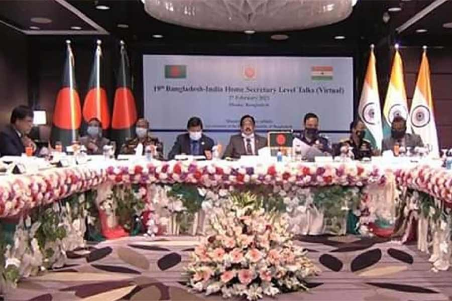 Bangladesh, India agree to enhance cooperation against cross-border crimes