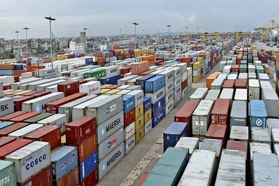 Exports slightly drop in July-Feb period