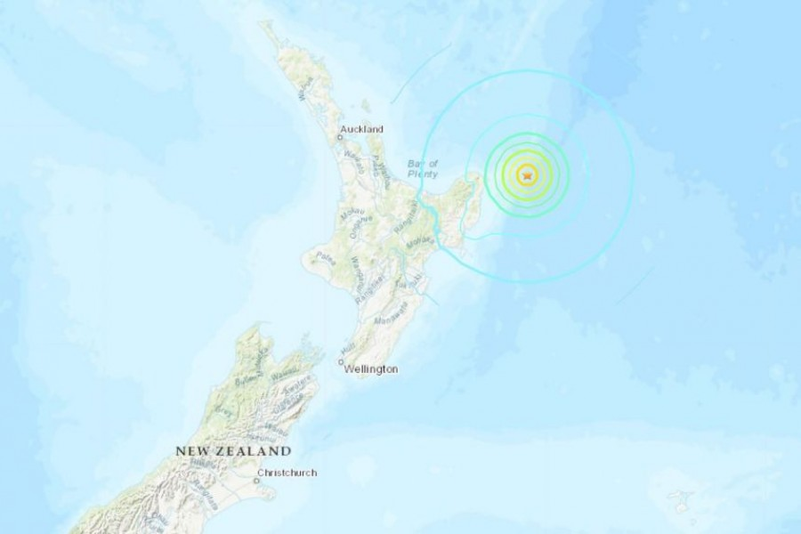 Tsunami warning issued as powerful quake hits near NZ