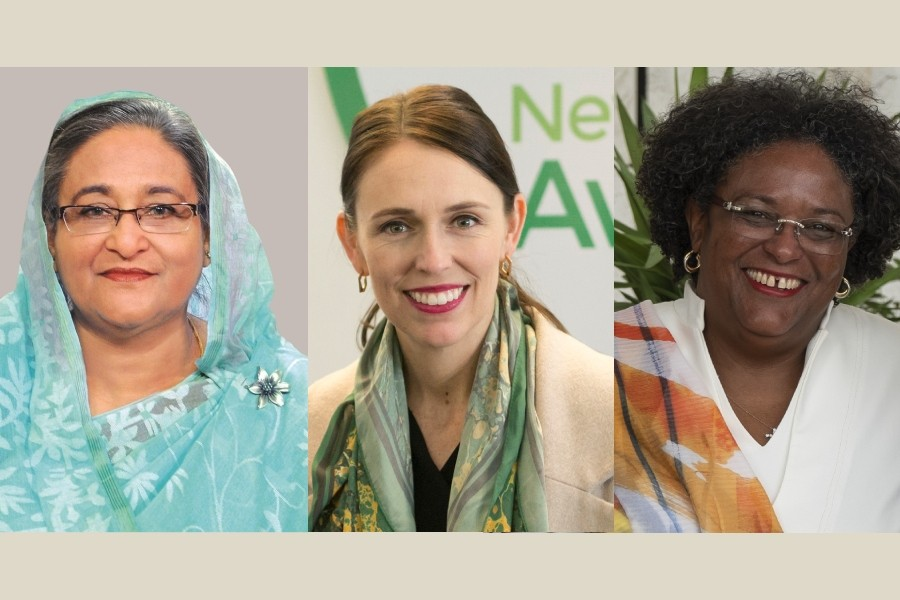 Sheikh Hasina among top three inspirational women leaders in Commonwealth