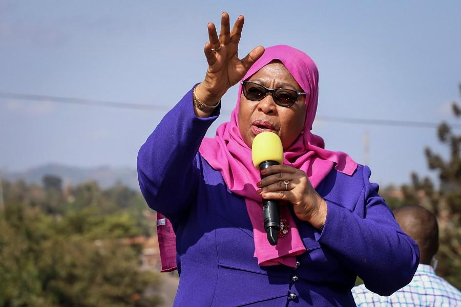Samia Suluhu Hassan becomes Tanzania's first woman president
