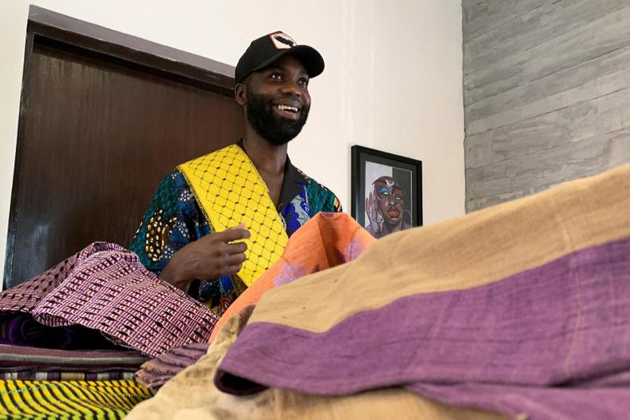Nigerian designers fashion a new aesthetic with traditional fabrics