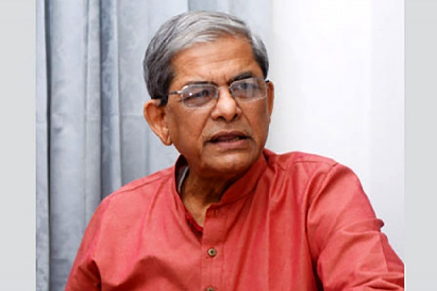 File photo of BNP Secretary General Mirza Fakhrul Islam Alamgir. (Collected)