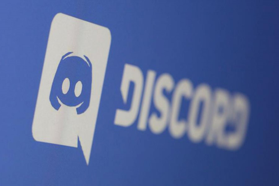 Discord app logo is seen displayed in this illustration taken on March 29, 2021 — Reuters photo