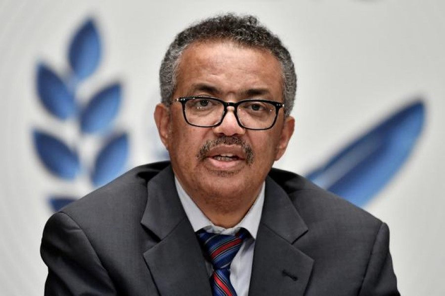World Health Organization (WHO) Director-General Tedros Adhanom Ghebreyesus is seen in this undated Reuters photo