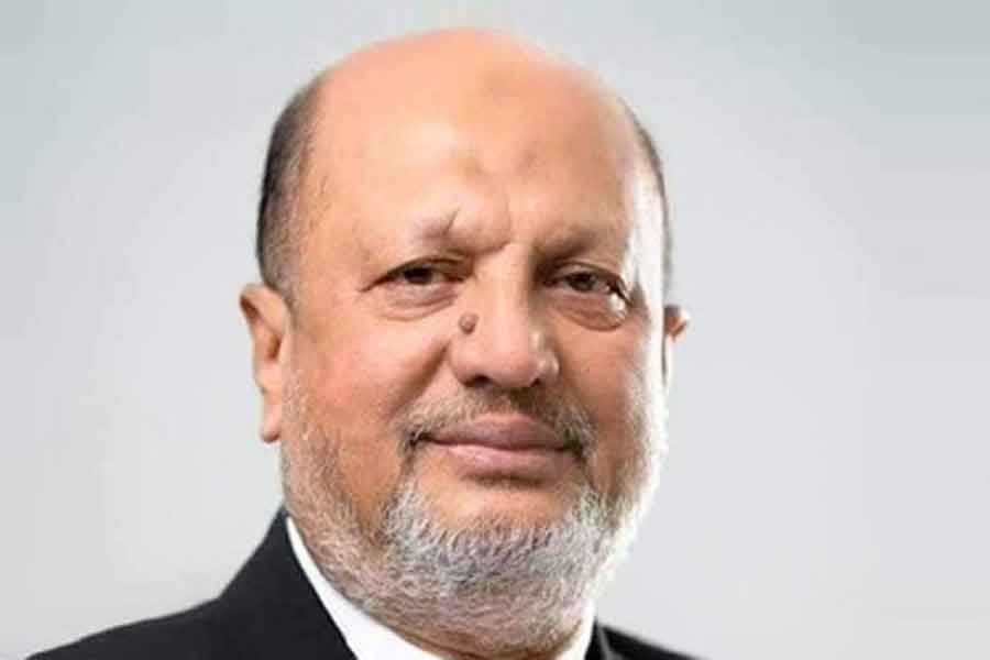 Former law minister Abdul Matin Khasru on life support