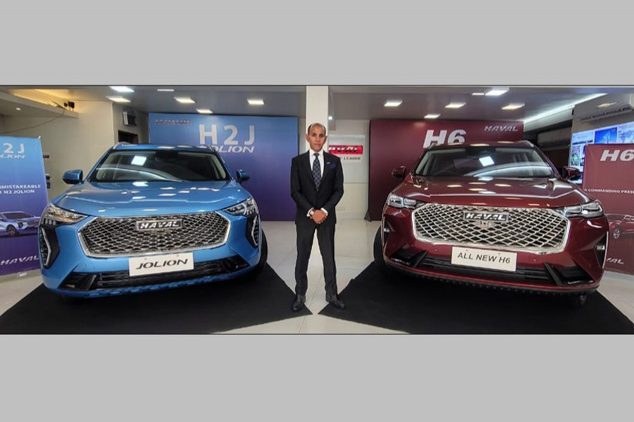 World's top-selling SUVs H2 Jolion, H6 launched in Dhaka