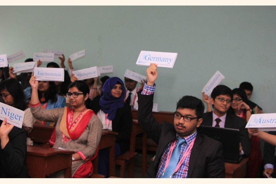 The decline of Model United Nations