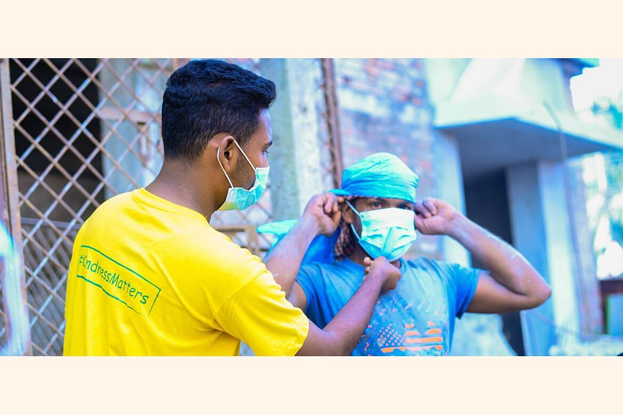Many young people choose to volunteer during the pandemic —VBD Photo